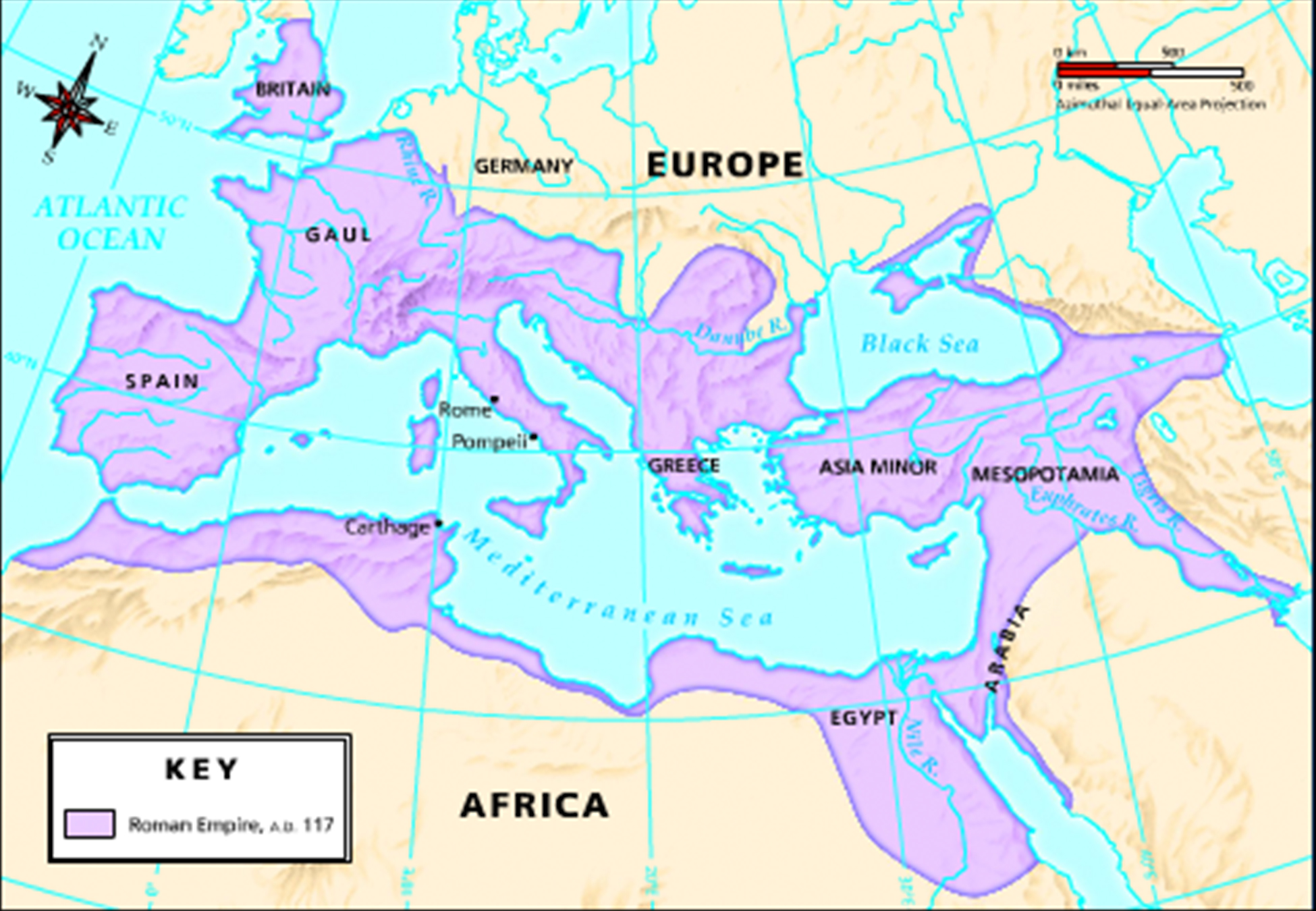 map of roman empire at its height the image kid has it. Black Bedroom Furniture Sets. Home Design Ideas